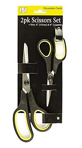 "2pk Scissors Set Size 6"" (15cm) and 8"" (21cm)"